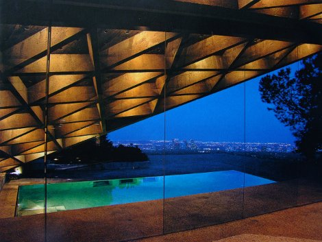 John LAUTNER Maison Sheats-Goldstein à Los Angeles 1963-1989
